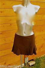 minifalda marrón luxe VANNINA VESPERINI talla 40 NUEVO CON ETIQUETA valor