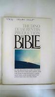 THE BIBLE Movie Souvenir Program JOHN HUSTON / EVA GARDNER / STEPHEN BOYD 1966