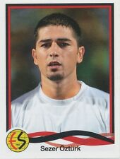 N°102 SEZER OZTURK # TURKEY ESKISEHIRSPOR ES STICKER PANINI SUPERLIG 2011
