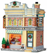 Lemax 25359 ADAM'S FIVE & DIME STORE Jukebox Junction Village Building '50s S I