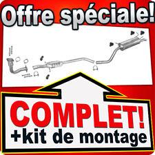 RENAULT MEGANE I 2.0 115//147cV 1995-1999 Ligne D/'échappement Silencieux