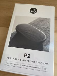 Bang And Olufsen P2 Portable Bluetooth Speaker - Brand New