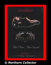 1996 Graaf GM 200 Tube Power Amplifier Vintage Print Ad Specs Photo