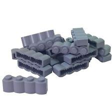 C07 3710 LEGO 34 Dark Bluish Grey Panel 1x4 Plate NEW