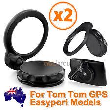 2x Car Windscreen GPS Holder Mount For TomTom ONE 30 IQ Live XL XXL XLT EasyPort