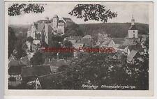 (79159) AK Sächs. Schweiz, Hohnstein, Ort mit Burg und Stadtkirche