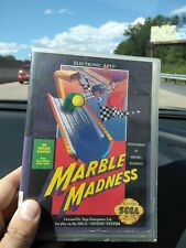 Marble Madness (Sega Genesis) Complete Tested make offer