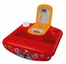 BIG Kleinkind Pflege Waschbecken für Badewannenrand Baby Splash rot 800056809