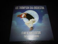 MADNESS - LEE THOMPSON SKA ORCHESTRA - it may be winter outside (UK PROMO CD)