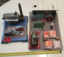 Mamod Wilesco steam engines and accessories