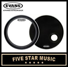 Evans BD20EMAD EMAD Clear Bass Drum Head, 20 Inch
