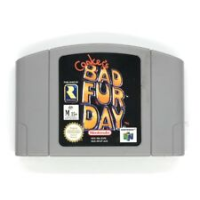 Conkers Bad Fur Day N64 Game USED
