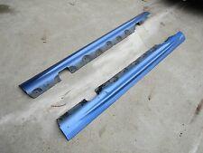 BMW E46 CABRIO 330Ci 325Ci 320Ci Side Skirt Panels Set LH RH in ESTORIL BLUE 335