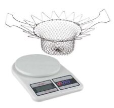 7KG/1G LCD Electronic Kitchen Weighing Scale with Magic Deluxe Strainer