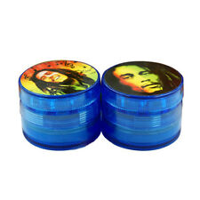 Multicolor 50mm 4 Layers Hand Muller Tobacco Crusher Smoke Herbal Herb Grinder
