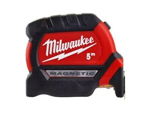 Milwaukee NEW 5m Magnetic Pro Tape Measure - Metric Only - Gen 3 4932464599