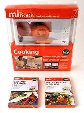 NEW MiBook Player & 4 Cook Book Digital Recipe Bundle MKC10 ebook ereader pizza