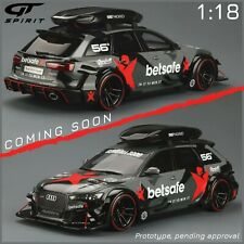 AUDI RS6 (C7) DTM Black 1:18 GT SPIRIT GT321 Précommande Fin Mai 2021