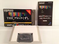 The Simple 2960 Block Kuzushi Breakout Japan Nintendo GameBoy Game Boy Complete