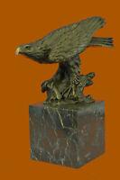 Original Hot Cast American Eagle Lost wax Bronze Sculpture Statue Figurine  Sale