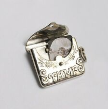 .925 Silver Jewellery Stamp Case