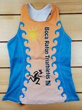 Women's Desoto Cycling Jersey/Tank Triathlon with back pockets - Size XL