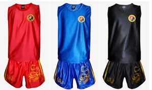 Dragon Embroidered Uniform Muay Thai Boxing Boxing Fighting Fighting Shorts