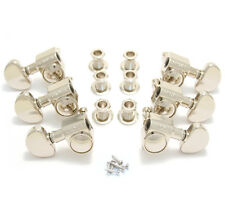 Grover Nickel Original 14:1 Rotomatic Tuners for Gibson®/Epiphone® Guitar 102N