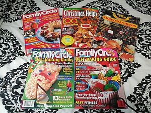 Vintage Family Circle Magazines  1979 and Up Holiday/Christmas