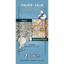 Calais - Lille Centenary Map - Pack 001 (Michelin Historical Maps),Michelin,New