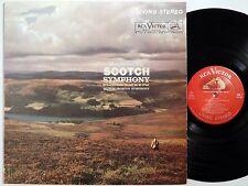 MUNCH Mendelssohn Scotch Symphony RCA LP LSC 2520 living stereo 1S/1S shaded dog