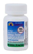 30 New Sealed Loratadine 30 ct 10 mg tablets Compare to Claritin OTC Allergy