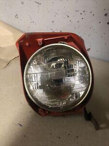 Fiat X1/9 Left Headlight Assembly