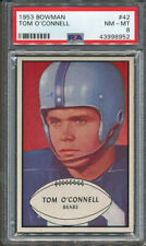 1953 Bowman #42 Tom O'Connell PSA NM-MT 8 *8952
