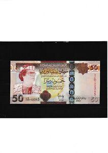 LIBYA 50 DINARS 2008 P75 UNC &0182