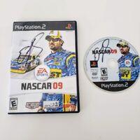 PS2 Nascar 09 Playstation Racing Game Signed by ELLIOTT SADLER Autograph!!