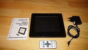 LogiLink PX0017 Digitaler Bilderrahmen Photo Frame Memory, Format 43, incl. Fern