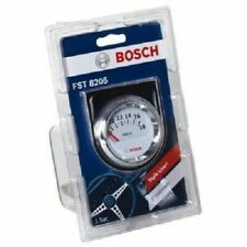"Bosch FST8205  Electrical 2"" Voltmeter Gauge (White Face) ~ NEW SEALED"