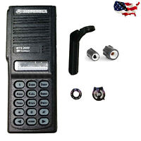 New Black Replacement Repair Case Housing for Motorola MTS2000 Portable Radio