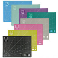 Art Self Healing PVC Cutting Mat Double Sided Gridded Rotary For Craft Fabric