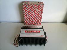 Amplificatore Auto BESTAR BSMA120 100+100 Watt GIACENZA Vintage Nuova POWER AMP
