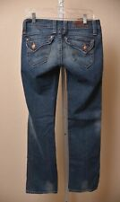 Sang Real by Miss Me Jeans Only The Chosen Bootcut Dark Wash Denim Women's 28
