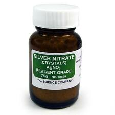 NC-10829 Silver Nitrate, 75g, Photography, Raku glazeFree Shipping,Lower 48 Sta