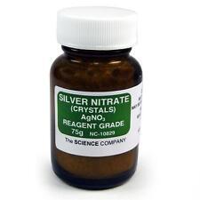 NC-10829 Silver Nitrate, 75g, Photography, Raku glazeFree Shipping,Lower 48 Sta