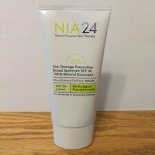 NIA 24 Sun Damage Prevention Sunscreen SP 30 - 2.5 oz / 75ml  - Expired H17