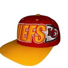Kansas City Chiefs Hat Mitchell Ness Vintage Collection NFL Snapback Wool Rare