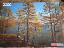Switzerland Jigsaw Puzzle - 2000 Pieces Trees & Mountains - Hestair Puzzles