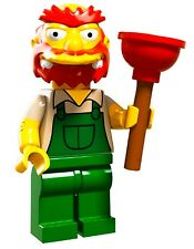 LEGO Minifigures Series 2 the Simpsons 71009 Groundskeeper Willie Plunger overal