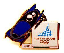 Pin Spilla Olimpiadi Torino 2006 Attrezz. Sportive - Bob 2
