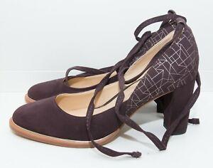 Clarks Burgundy/Wine Shoes Heels Size 5.5 UK Cushion Plus VGC